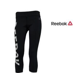 Reebok® Calças de Treino Pretas | Tecnologia Speedwick