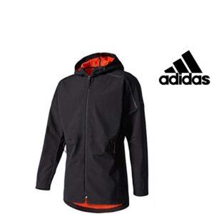 Adidas® Casaco Preto com Carapuço