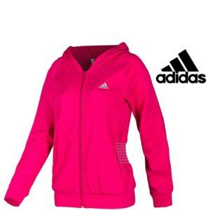 Adidas® Casaco Rosa com Carapuço