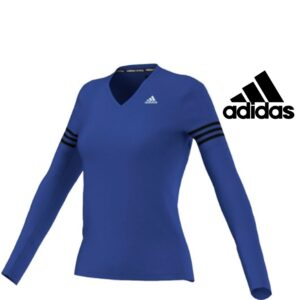 Adidas® Camisola Azul Running | Tecnologia Climalite