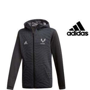 Adidas® Casaco Preto com Carapuço Messi Junior