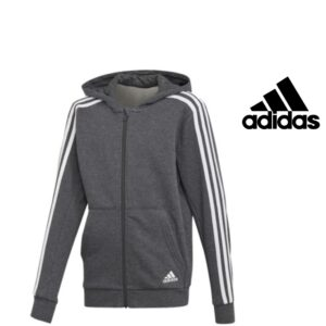 Adidas® Junior Abrigo gris con capucha