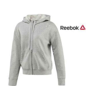 Reebok® Casaco Cinzento com Capuz