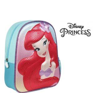 Mochila Infantil 3D Princesas Disney