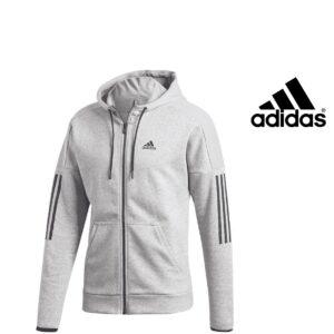 Adidas® Casaco Sport ID Fleece Hoodie Cinzento