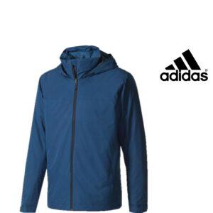 Adidas® Casaco Impermeável Wandertag Blue Night | Tecnologia ClimaProof®