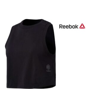 Reebok® Top de Desporto Cropped Tank