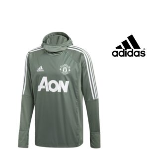 Adidas® Camisola com Carapuço Manchester United Oficial | Tecnologia Climawarm®