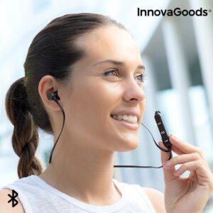 Auriculares Magnéticos Sem Fios InnovaGoods