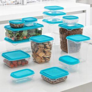 Conjunto de recipientes para comida Tb 17 Peças