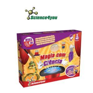 Magia Com Ciência - Descobre Como Fazer Experiências Mágicas - Science4you