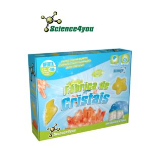 Fábrica de Cristais - Aprende Como Produzir Fantásticos Cristais - Science4you