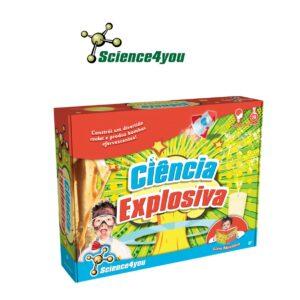 Ciência Explosiva - Aprende a Fazer Várias Experiências - Science4you