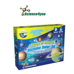 A Ciência do Universo - Aprende a Construir Um Sistema Solar em 3D - Science4you