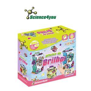 Oficina de Brilho - Aprende a Fazer Fantásticas Decorações - Science4you