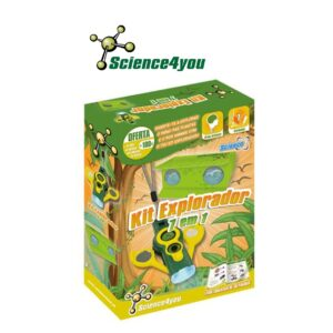 Kit Explorador 7 em 1 - Diverte-te a Explorar o Reino das Plantas - Science4you