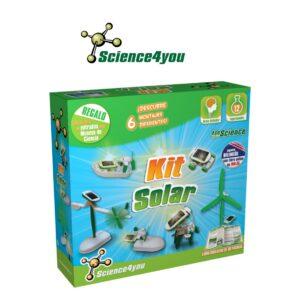 Kit Solar 6 em 1 - Viaja Pelo Mundo do Desenvolvimento Sustentável - Science4you