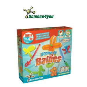 Oficina de Balões - Todos os Truques Para Construíres 30 Divertidas Figuras - Science4you