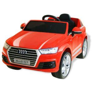 Carro de passeio Audi Q7 elétrico 6 V vermelho - PORTES GRÁTIS