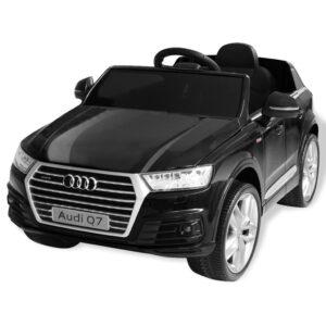 Carro de passeio Audi Q7 elétrico 6 V preto - PORTES GRÁTIS
