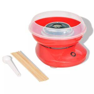 Máquina de algodão-doce 480 W vermelho  - PORTES GRÁTIS