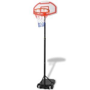 Tabela de basquetebol portátil 210 cm - PORTES GRÁTIS
