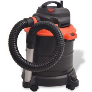 Aspirador de cinzas 1200 W 20 L preto e laranja  - PORTES GRÁTIS