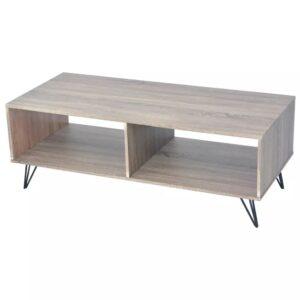 Móvel de TV/mesa de centro 120x40x45 cm cinzento  - PORTES GRÁTIS