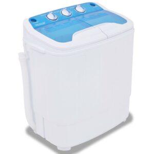 Mini máquina de lavar roupa tambor duplo 5,6 kg - PORTES GRÁTIS