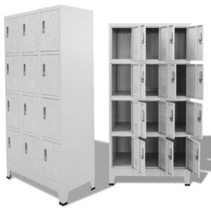 Cacifo com 12 compartimentos 90x45x180 cm   - PORTES GRÁTIS