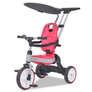 Triciclo infantil BMW rosa - PORTES GRÁTIS