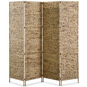 Divisória de quarto com 4 painéis 154x160 cm jacinto de água  - PORTES GRÁTIS