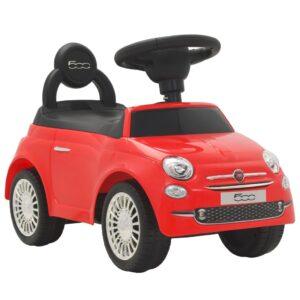 Carro de passeio Fiat 500 vermelho  - PORTES GRÁTIS