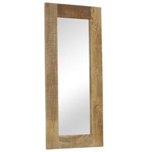 Espelho em madeira de mangueira maciça 50x110 cm - PORTES GRÁTIS