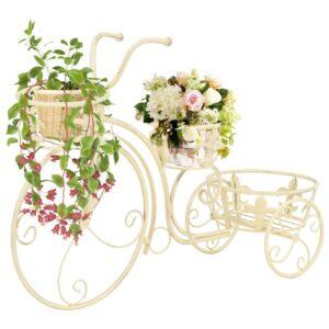 Suporte para plantas formato de bicicleta estilo vintage metal - PORTES GRÁTIS