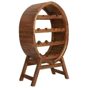Garrafeira para 13 garrafas em madeira de acácia maciça   - PORTES GRÁTIS