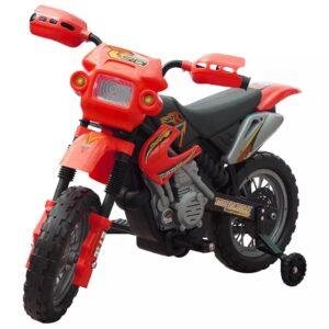 Moto elétrica infantil vermelha - PORTES GRÁTIS