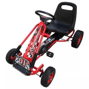 Kart com pedal vermelho - PORTES GRÁTIS