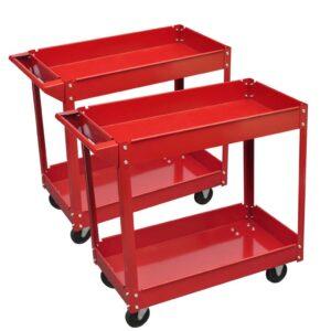 2 x carrinhos de oficina para ferramentas - capacidade de carga (máximo): 100 kg- PORTES GRÁTIS