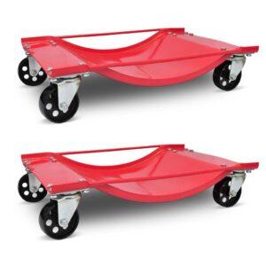 Carro de transporte, 2 peças , capacidade para 450 kg cada - PORTES GRÁTIS