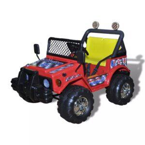 Carro elétrico crianças com dois assentos Vermelho - PORTES GRÁTIS