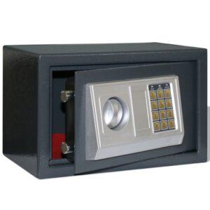 Cofre digital, electrónico 31 x 20 x 20 cm  - PORTES GRÁTIS