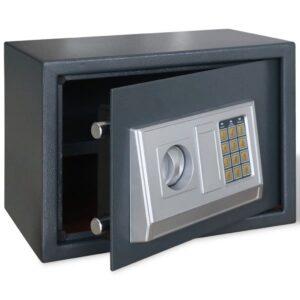 Cofre Electrónico Digital com Prateleira 25 x 25 x 35 cm - PORTES GRÁTIS