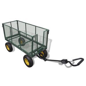 Reboque de jardim, 350 kg de carga - PORTES GRÁTIS