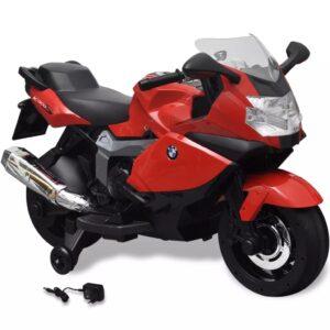 Motocicleta eléctrica BMW 283 para crianças- vermelho 6V - PORTES GRÁTIS