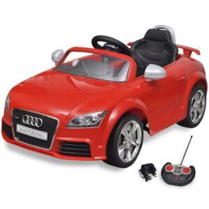 Carro Audi TT RS para crianças com controlo remoto - vermelho - PORTES GRÁTIS