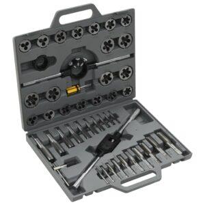 Conjunto ferramentas para abrir rosca, 45 peças  - PORTES GRÁTIS