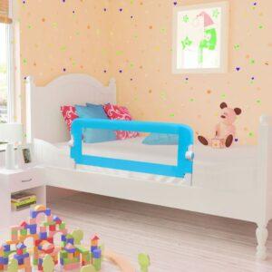 Toddler Barra de segurança para cama 102 x 42 cm azul - PORTES GRÁTIS
