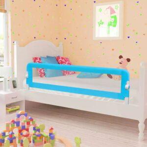 Toddler Barra de segurança para cama 150 x 42 cm azul - PORTES GRÁTIS