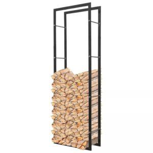 Suporte de lenha, retangular 150 cm - PORTES GRÁTIS